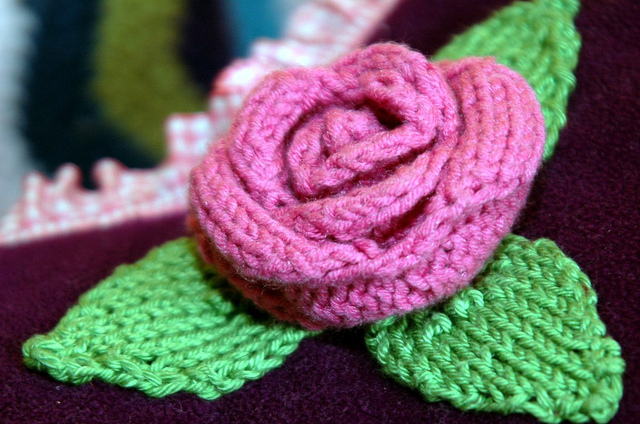 The Knitting Needle And The Damage Done Say It With Knitted Flowers