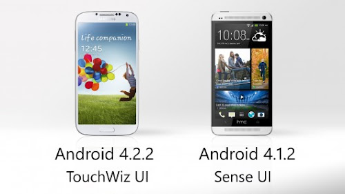 Samsung TouchWiz 3 vs HTC Sense 5 - Software Comparison