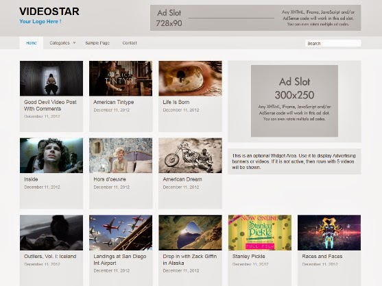 VideoStar - WordPress Theme for Video