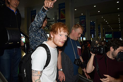 Ed Sheeran, Manila, Ed Sheeran Manila, Ed Sheeran monkeys