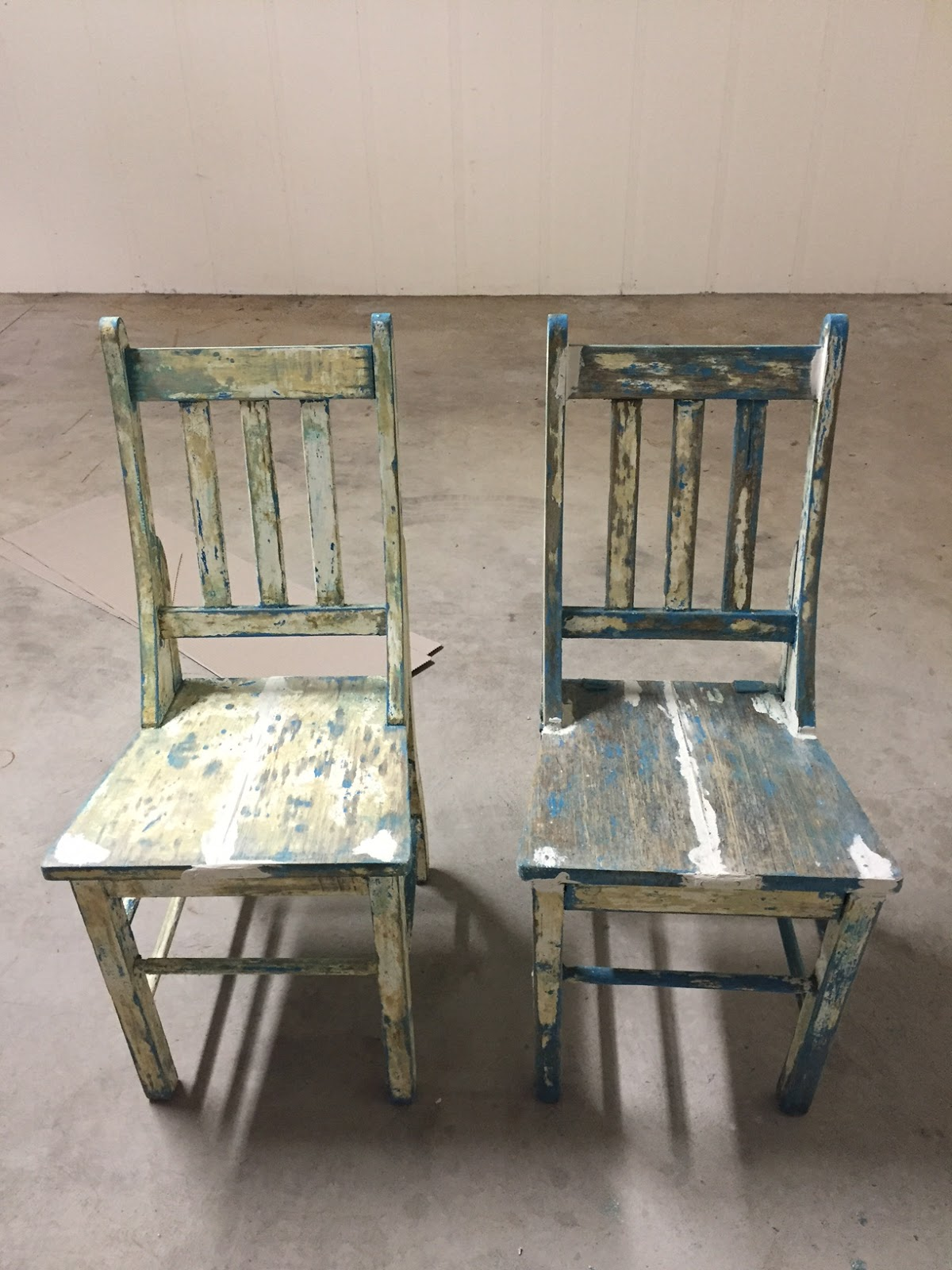 Chairs post paint stripper and joint reinforcement the bare bones were not pretty