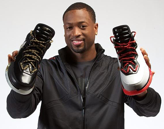 lining shoes are killing d wades career
