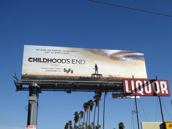 Childhood's End TV billboard