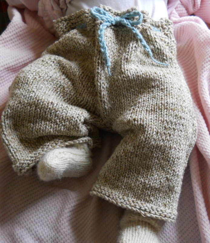 Plain and Joyful Living: Baby Knit Pants and Another Farming and Food Book