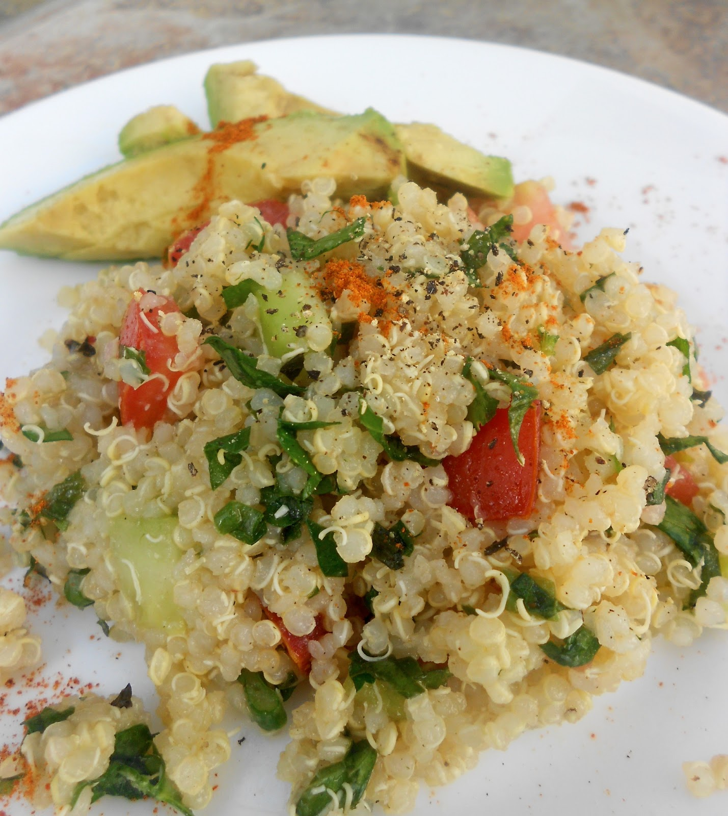 Savouring Stella: Welcome Spring! +Quinoa Tabbouleh