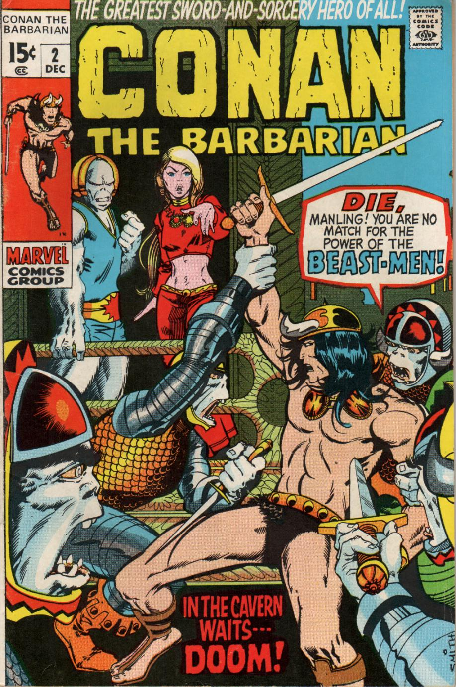 Conan the Barbarian (1970) Issue #2 #14 - English 1