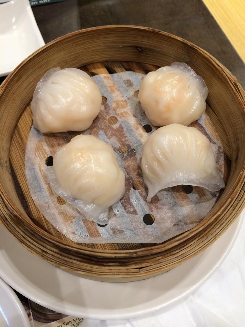S10 - Steamed Prawn Dumpling