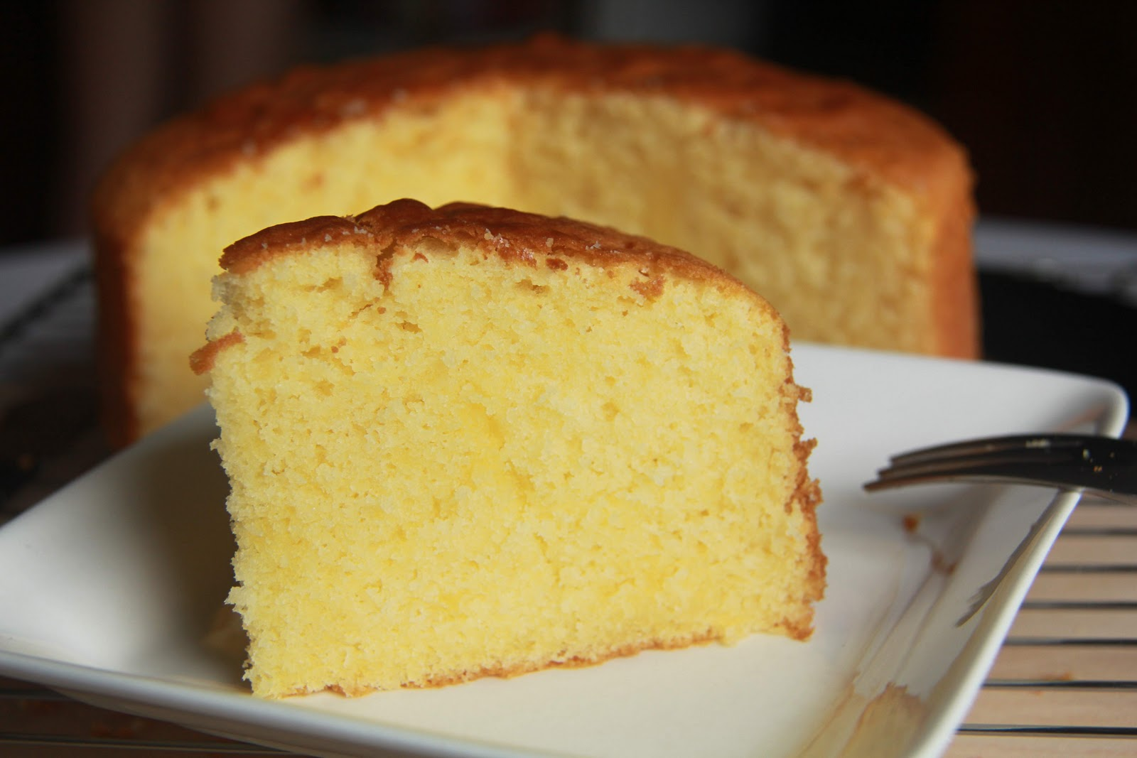 Simple Butter Cake Images : Simple Indulgence: Light Butter Cake
