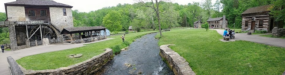 Spring Mill State Park in Indiana