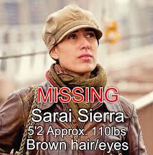 donna scomparsa