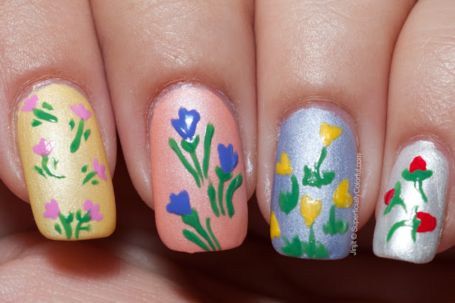 The Nail Junkie Spring Pastel