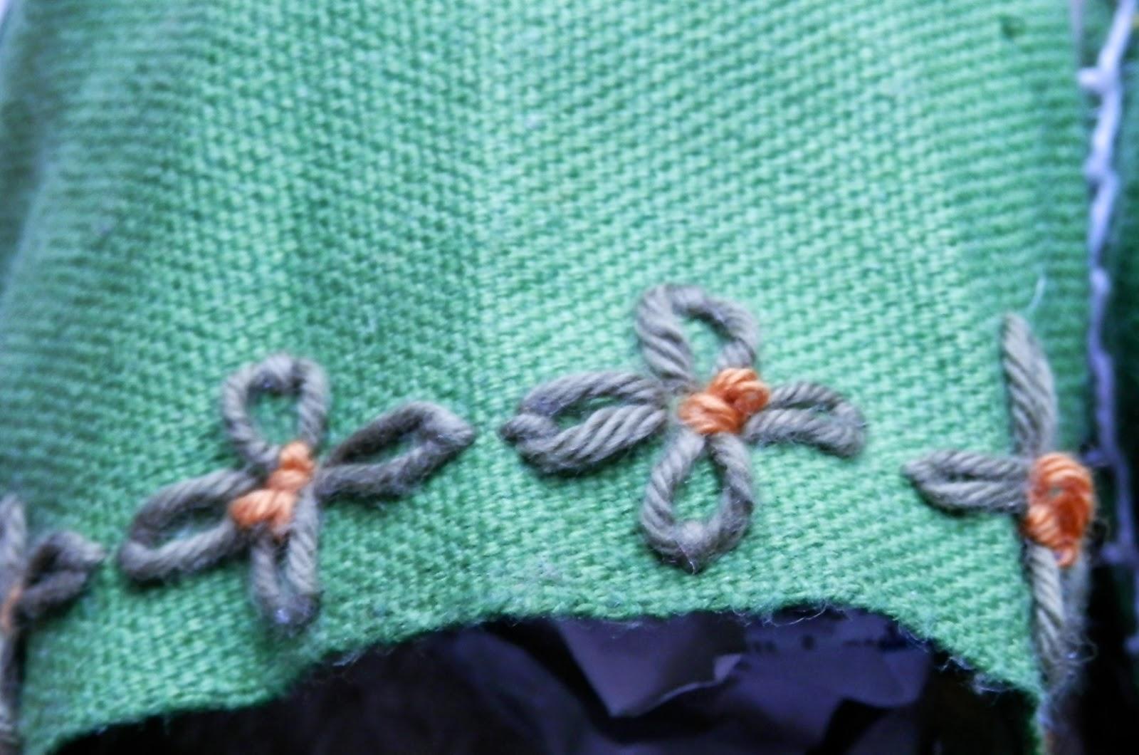Así que ya sabéis, si queréis unas alpargatas molonas y handmade, nada mejor que bordarlas. Os animo a probarlo, es adictivo! )