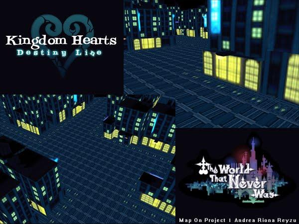 Andrea\'s Projects Development: Kingdom Hearts: Destiny Line