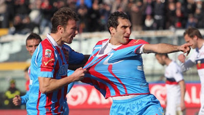 Catania Genoa 4-0 highlights sky