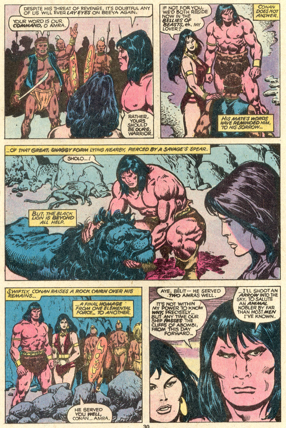Conan the Barbarian (1970) Issue #97 #109 - English 17