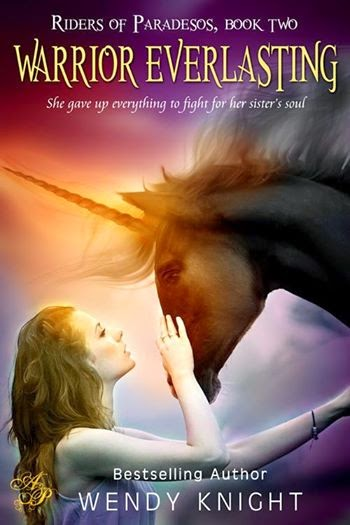 http://www.amazon.com/Warrior-Everlasting-Book-Riders-Paradesos-ebook/dp/B00K5HGI8G/ref=sr_1_1?ie=UTF8&qid=1399398259&sr=8-1&keywords=Warrior+Everlasting+by+Wendy+Knight