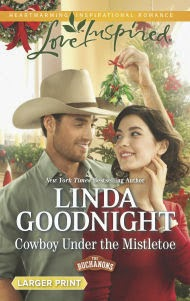 http://www.amazon.com/Cowboy-Under-Mistletoe-Inspired-Buchanons-ebook/dp/B00K9ZWK4U/ref=sr_1_1?ie=UTF8&qid=1411428750&sr=8-1&keywords=cowboy+under+the+mistletoe