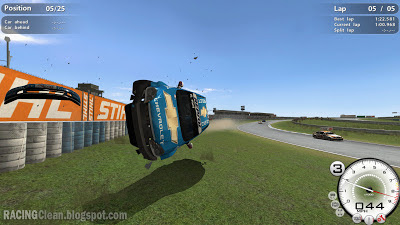 Crash at Curitiba Brazil in Race 07 (Race On)