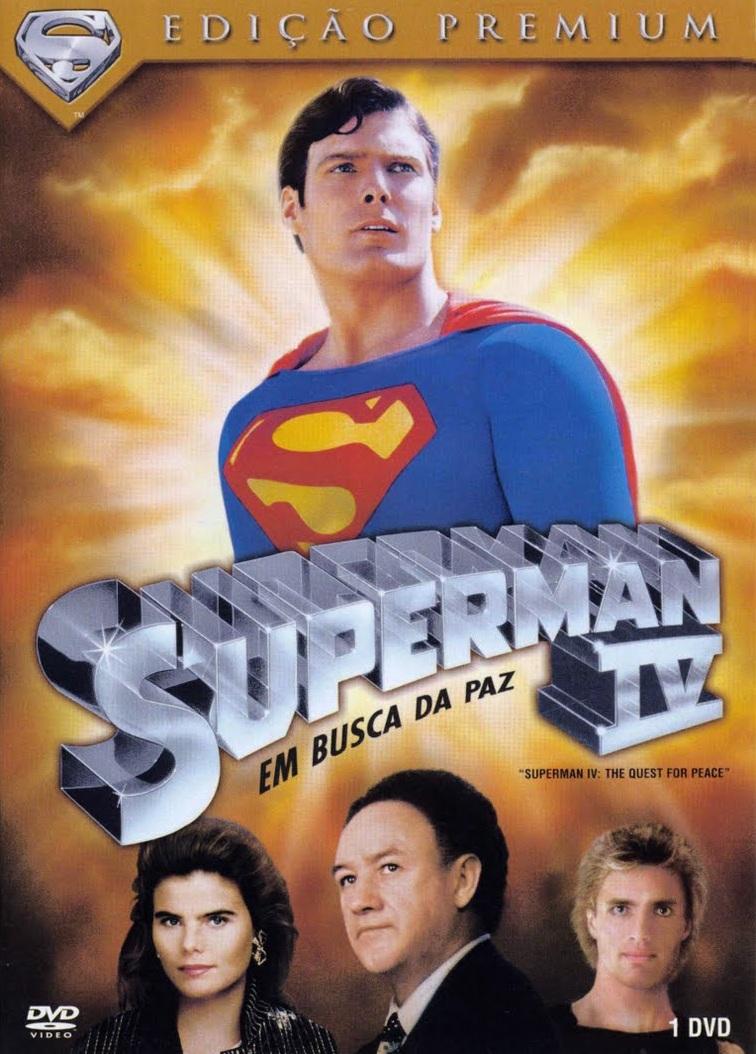 Superman 4: Em Busca da Paz – Dublado (1987)