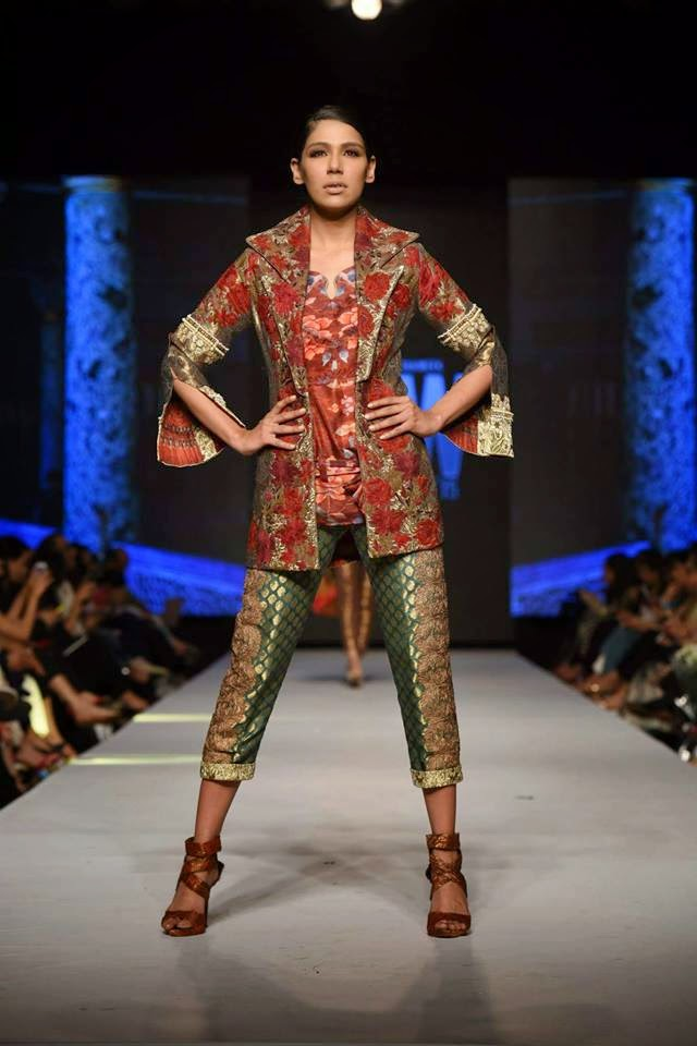 Shameel Ansari Luxury Pret Collection TPFW 2015