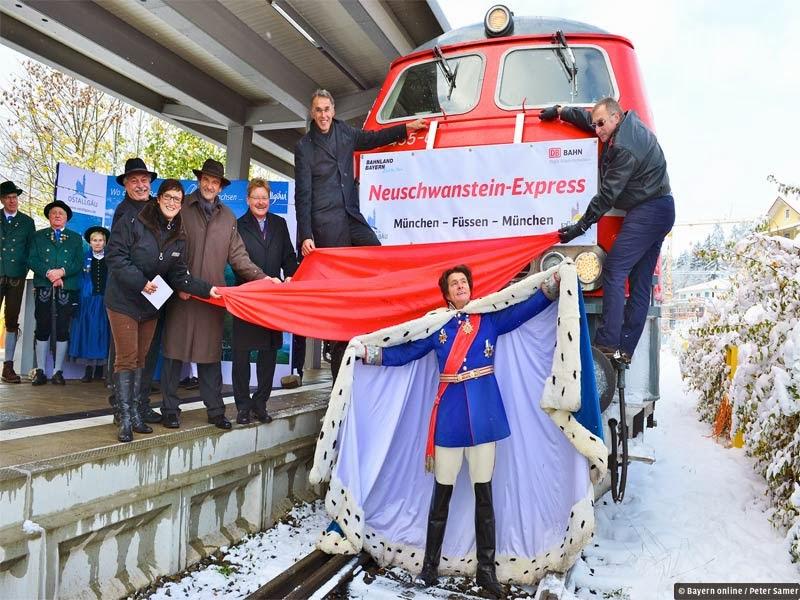 Train Stop fussen neuschwanstein