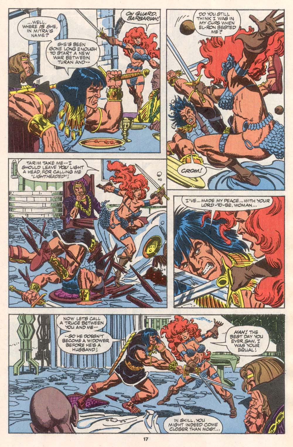 Conan the Barbarian (1970) Issue #242 #254 - English 14