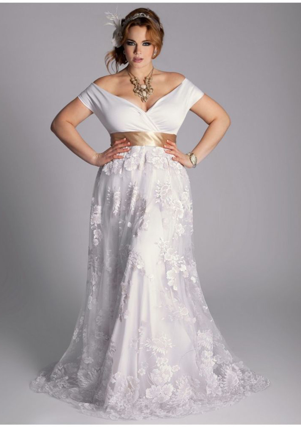 beautiful plus size wedding dresses
