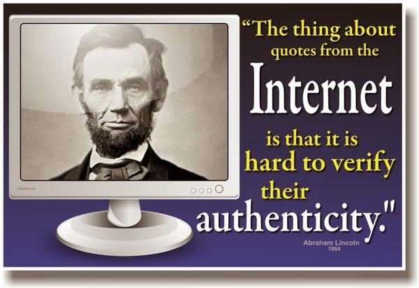 Scraps Internet quotes