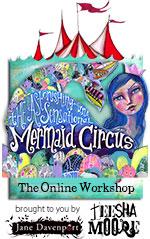 Teesha Moore & Jane Davenport/ Mermaid Circus Class