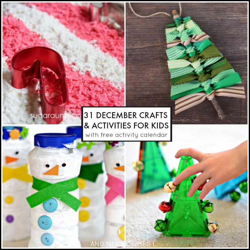 December Activities For Kids Free Activity Calendar  And