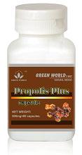 Green World Propolis Plus Capsule