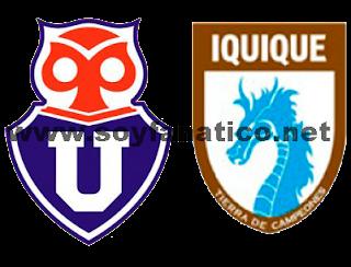 Universidad de chile y Deportes Iquique por la Fecha 11 Torneo Apertura 2013