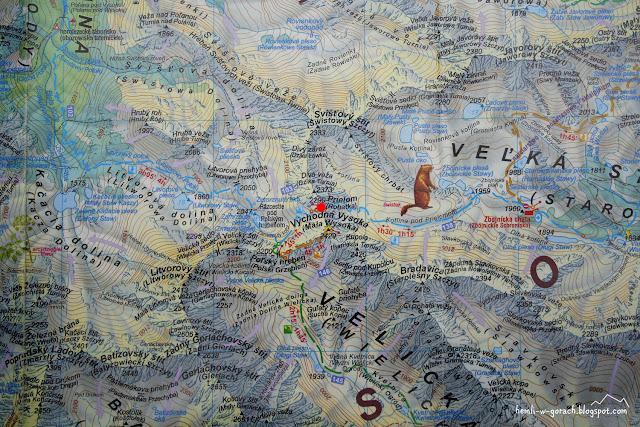 Rohatka na mapie