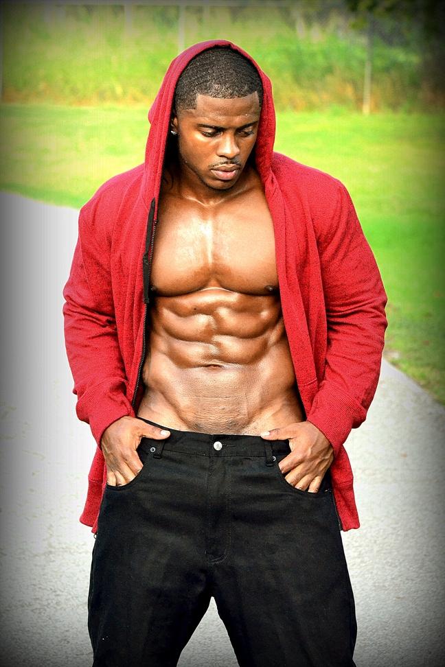 HOT BLACK MEN: Brandon Trahan