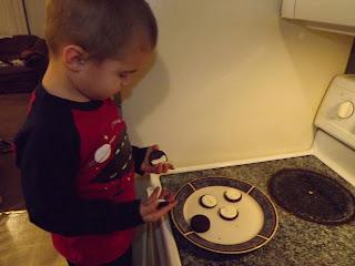 Separate the cookies