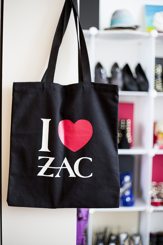 Zac Posen tote bag
