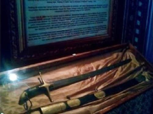 Replika pedang Rasulullah di IBF 2014 (ROL)