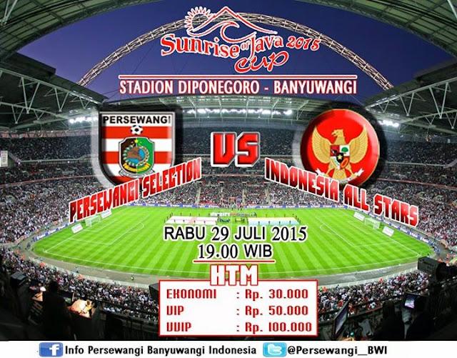 Persewangi Selection vs Indonesia All Stars 2015