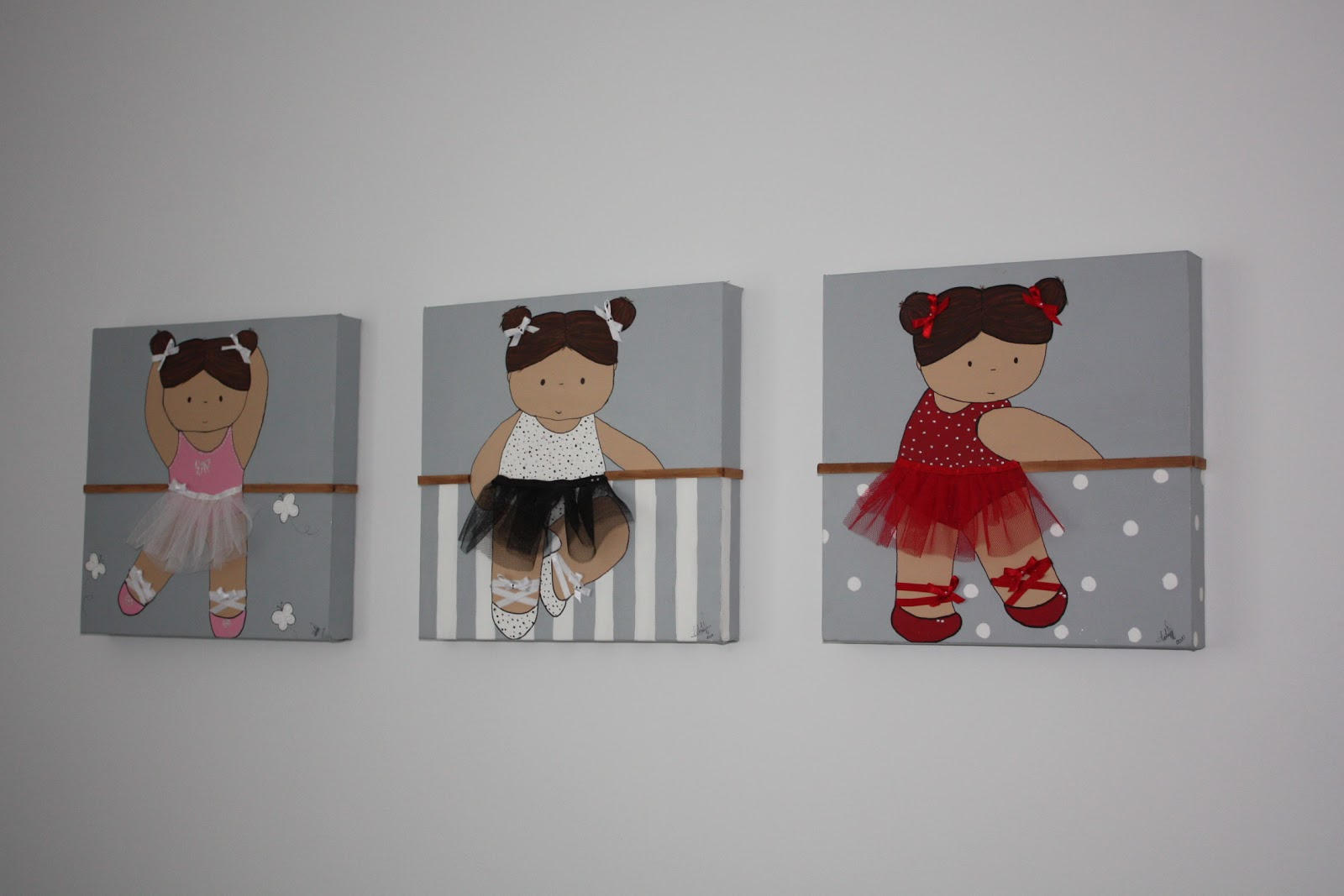cuadros infantiles 2 - Cuadros Originales Hechos A Mano