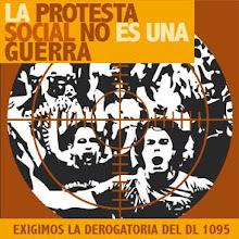 Perú: Exigimos la derogatoria del Decreto Legislativo 1095