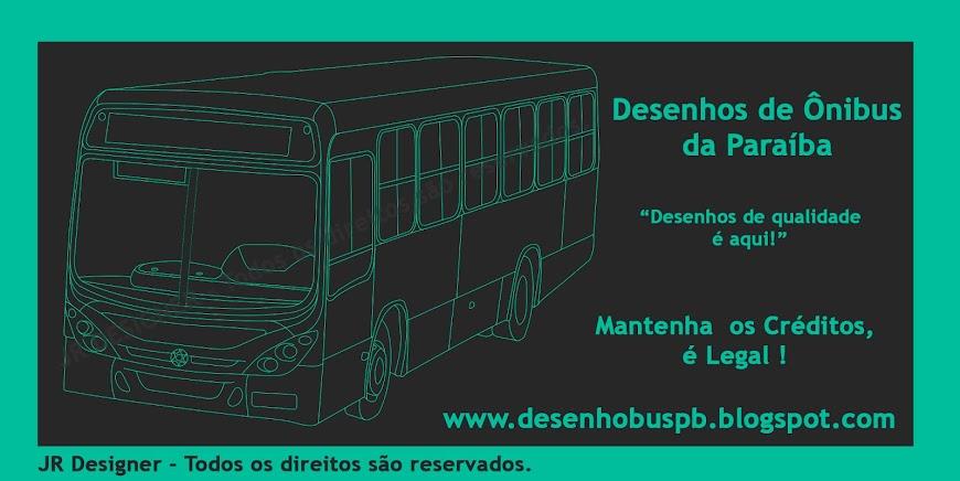 Desenho De Onibus Da Paraíba