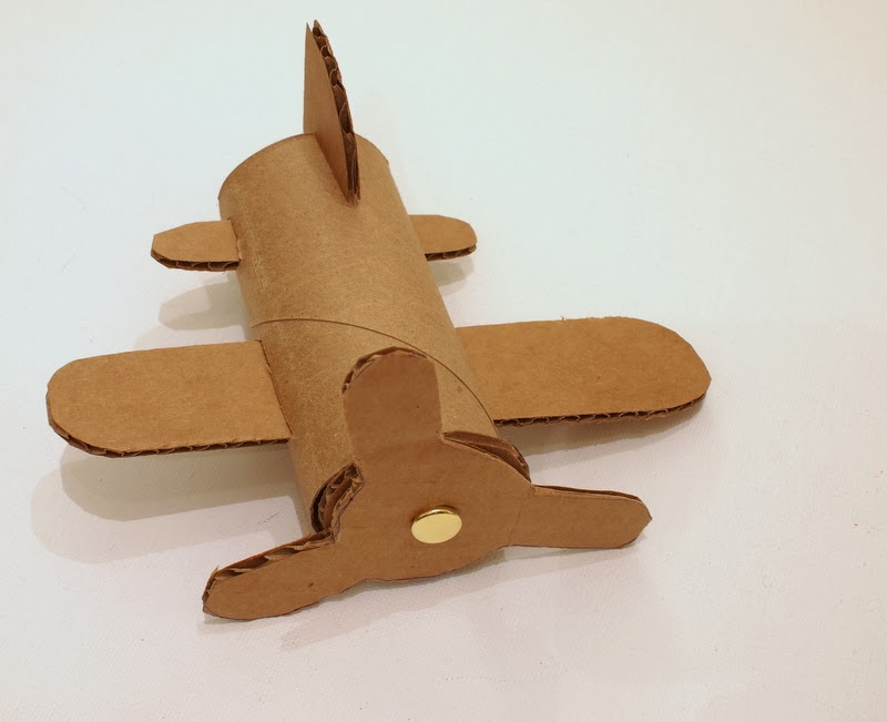 cardboard toilet roll airplane craft
