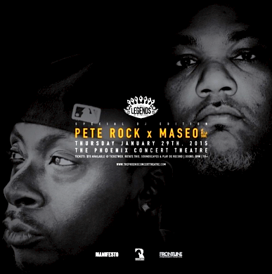 Pete Rock & Maseo @ The Phoenix, Thursday