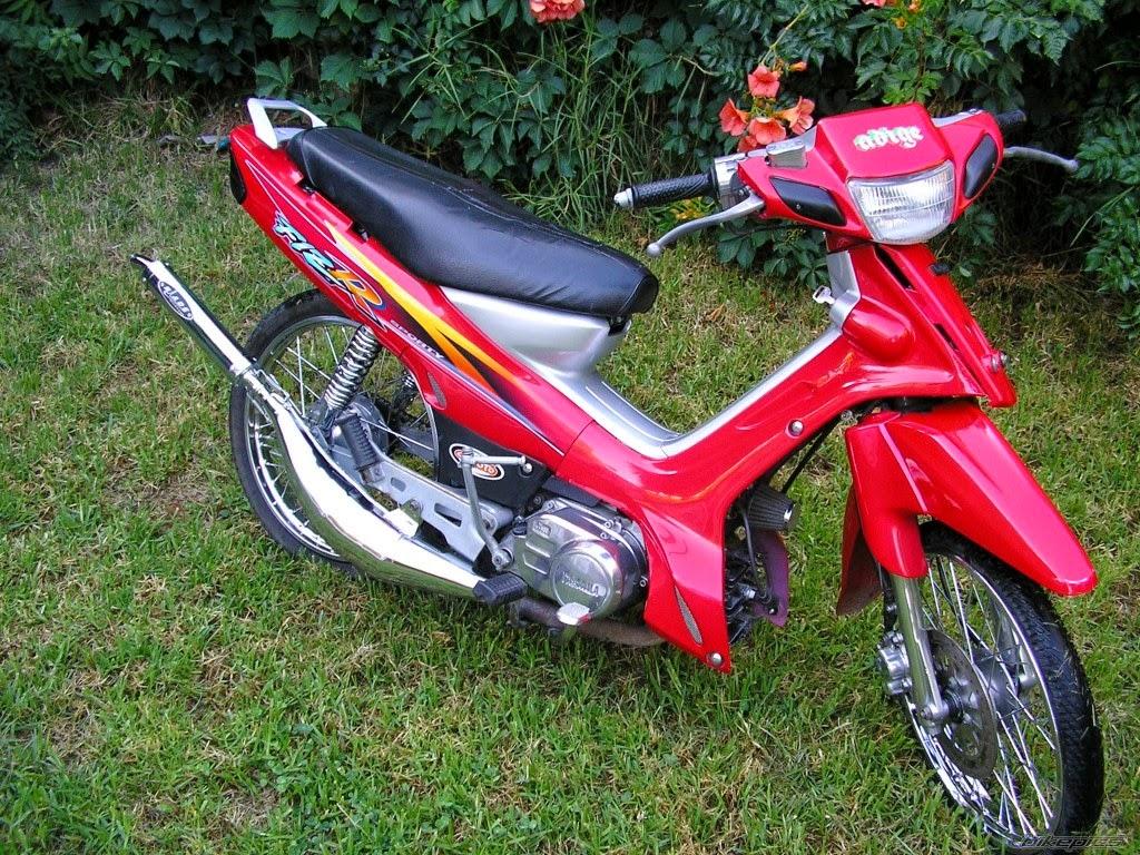 modifikasi motor fiz r merah