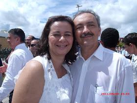 Luiz Fernando e Cristiane Coelho