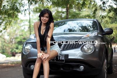 Tiara Sakti di Majalah Popular World Agustus 2012