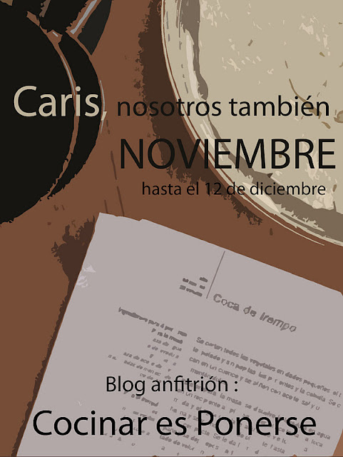 Blog anfitrión 10ª receta Caris...¡Nosotros También!