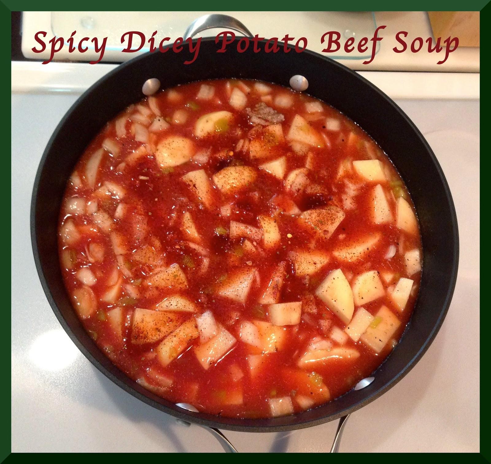 WildWSS: Spicy Potato Beef Soup
