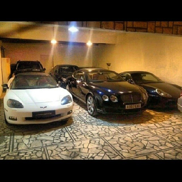 Jaguar,Porsche and Lamborghini of Sardar ayaz sadiq