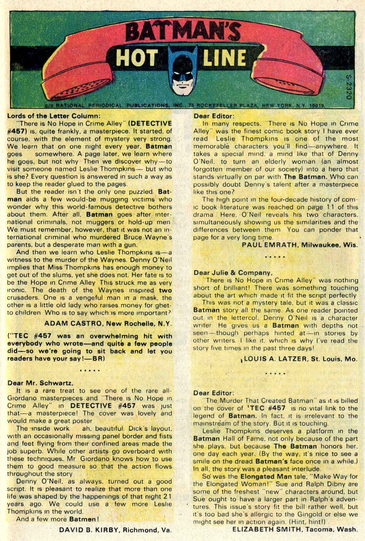 Detective Comics (1937) Issue #461 Page 33